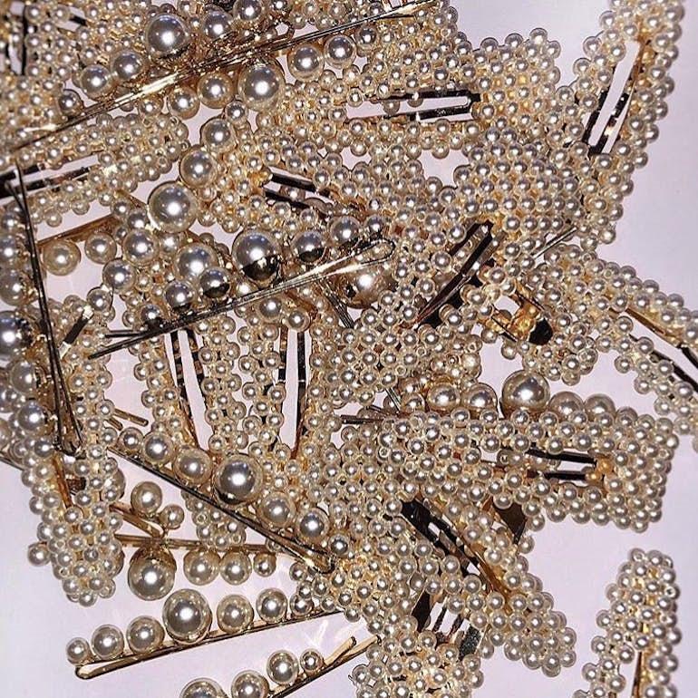 Audrey Clip von Pico in Vergoldet-Silber Sterling 925