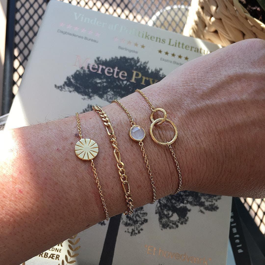 Double bracelet fra Pernille Corydon i Sølv Sterling 925