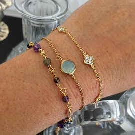 Gem Candy Mixed Gemstones bracelet