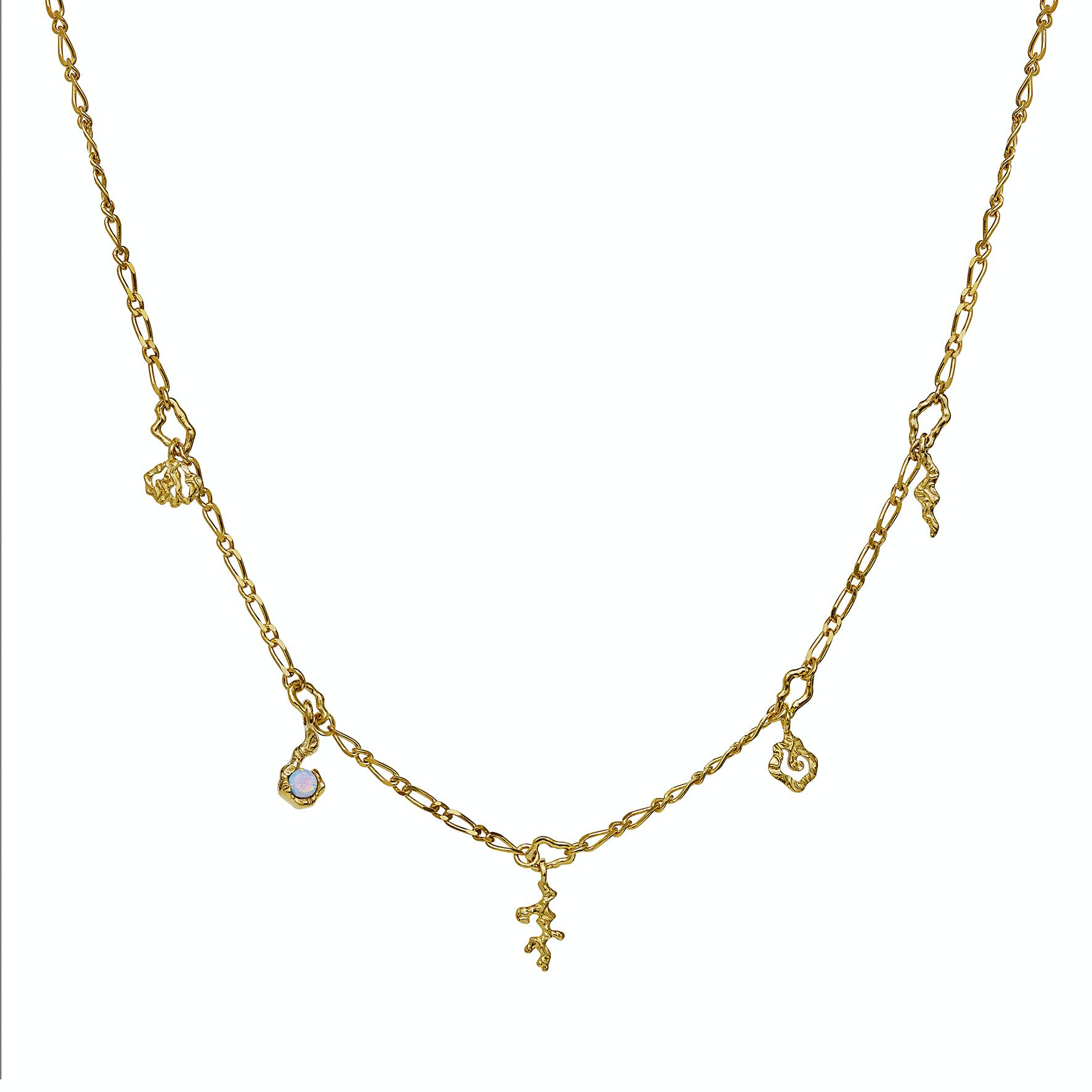 Hali Necklace from Maanesten in Goldplated-Silver Sterling 925