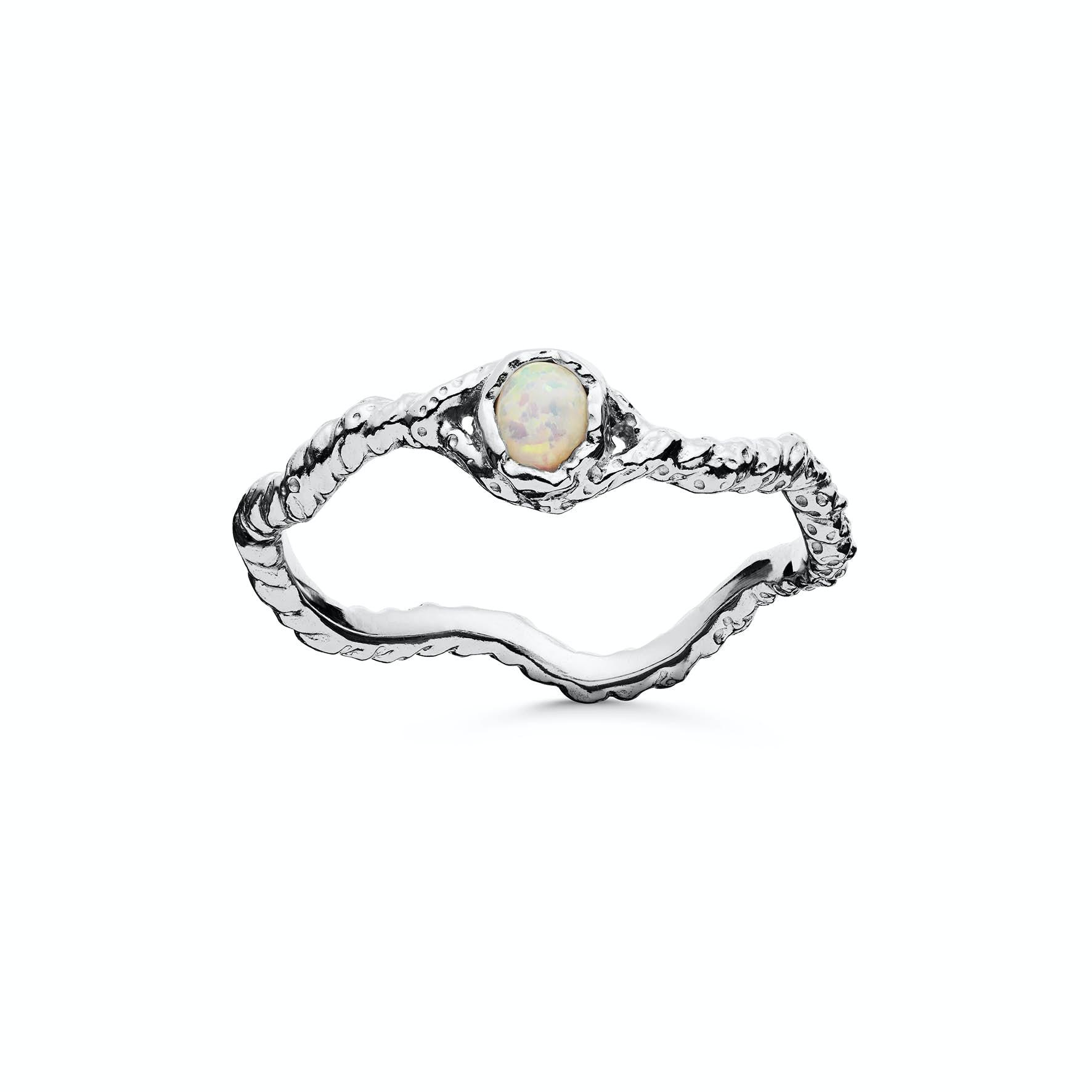 Lisa Ring fra Maanesten i Sølv Sterling 925