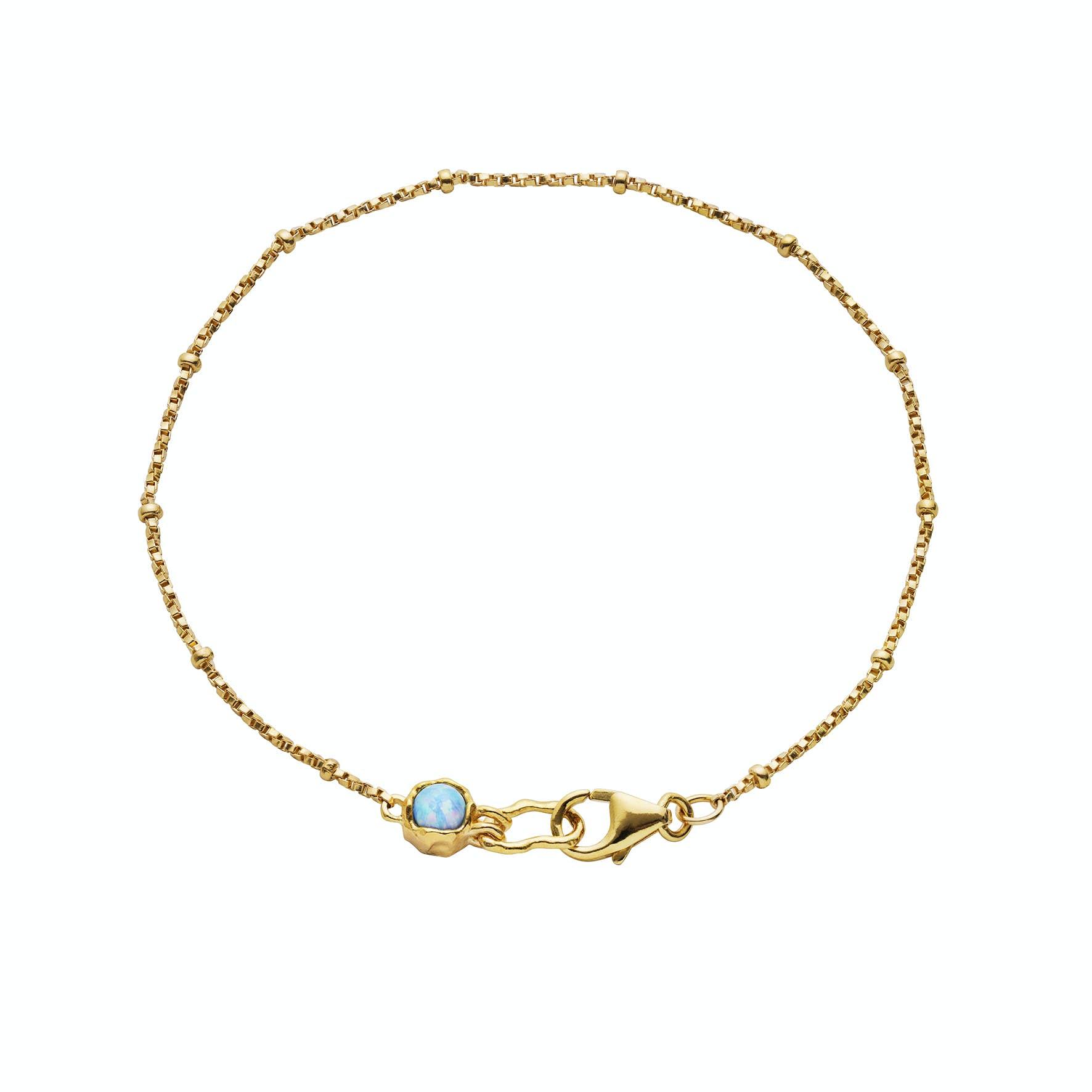 Torenia Bracelet von Maanesten in Vergoldet-Silber Sterling 925