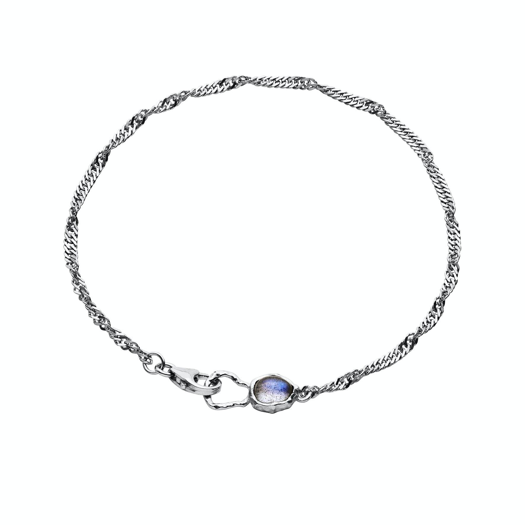 Perilla Bracelet from Maanesten in Silver Sterling 925