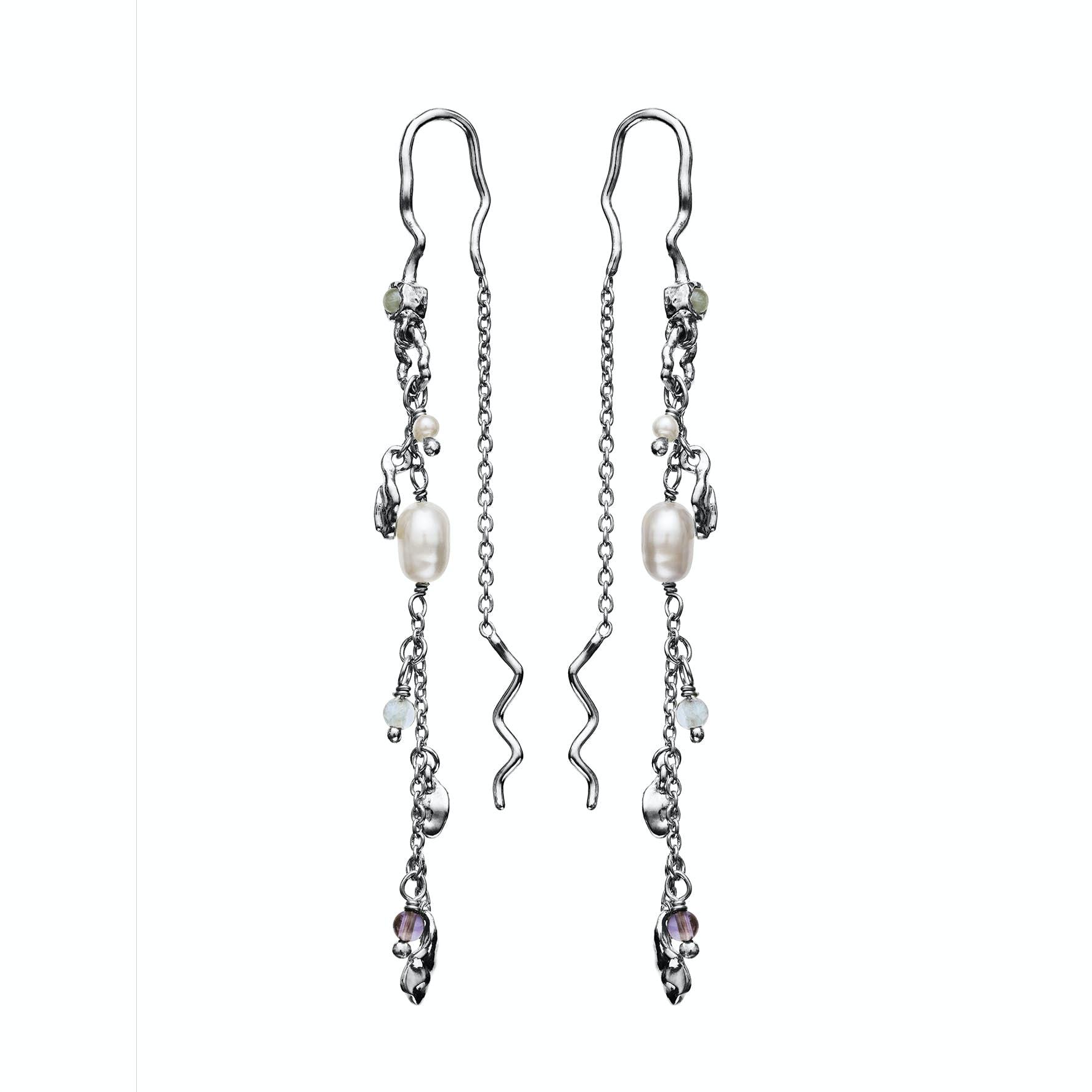 Poppy Earrings fra Maanesten i Sølv Sterling 925