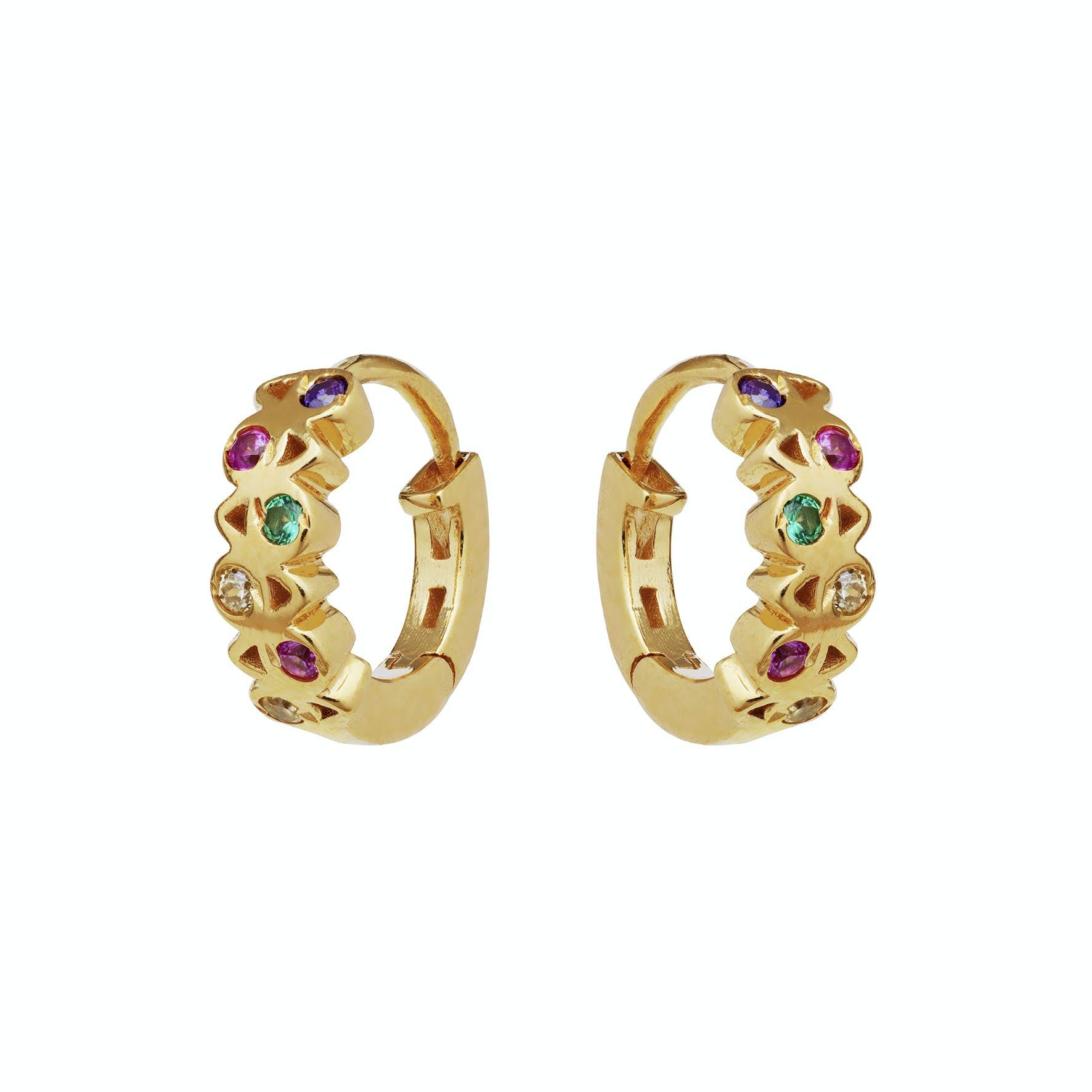 Dara Earrings from Maanesten in Goldplated-Silver Sterling 925