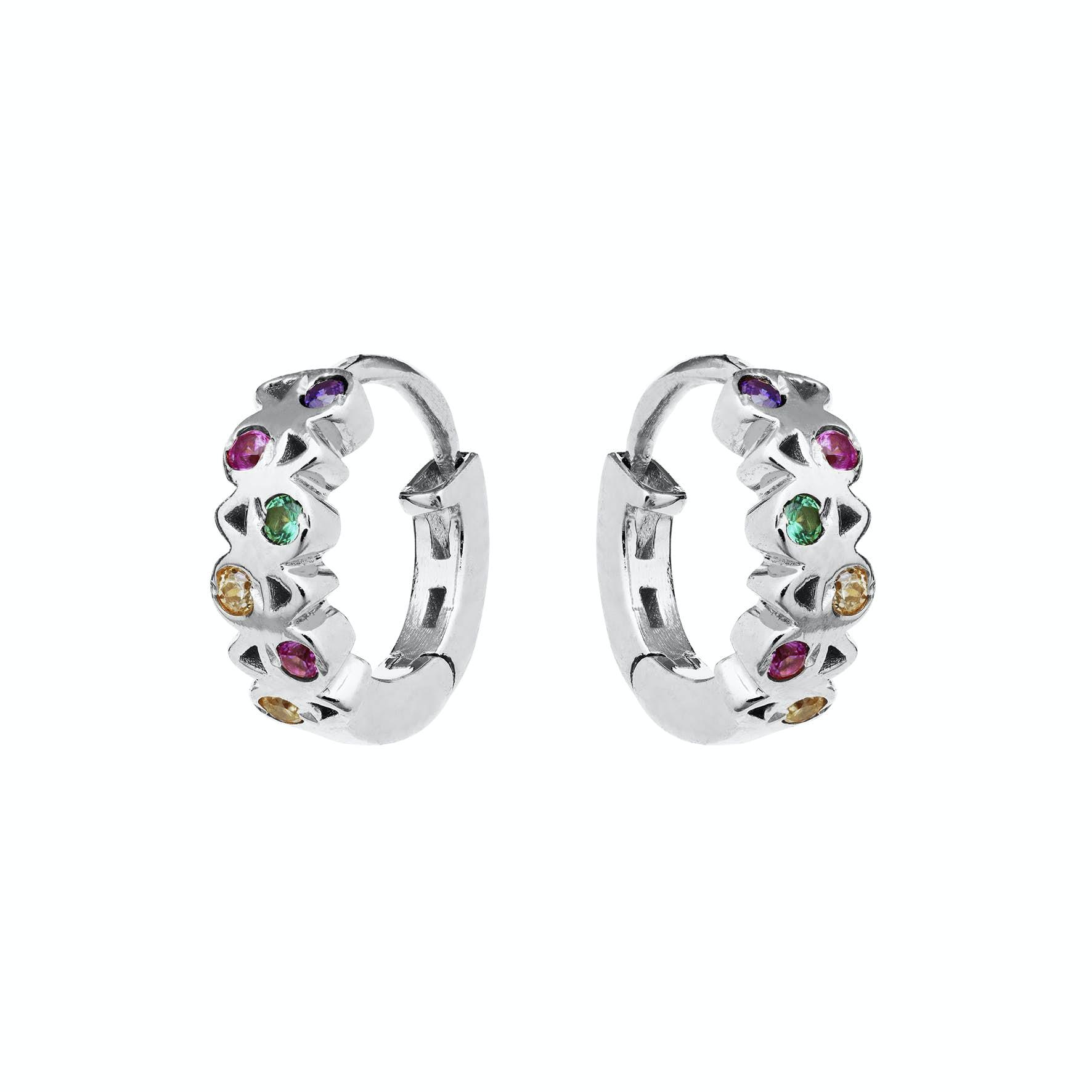 Dara Earrings från Maanesten i Silver Sterling 925