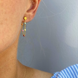 Lola Earrings Rainbow