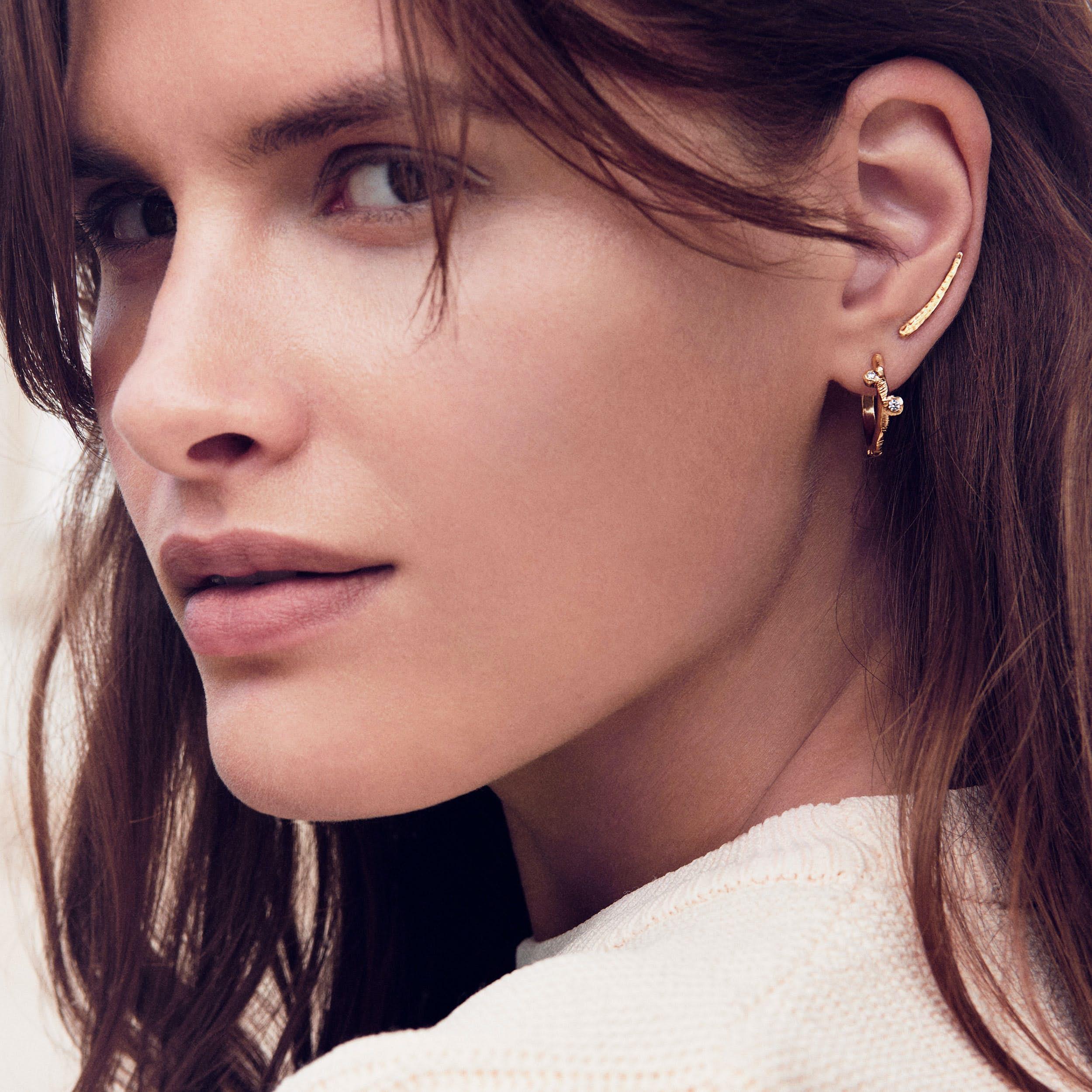 Maude Earrings from Enamel Copenhagen in Goldplated-Silver Sterling 925