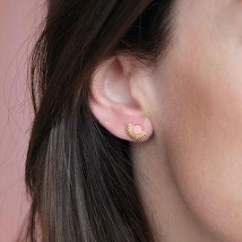 Soleil earsticks Rose