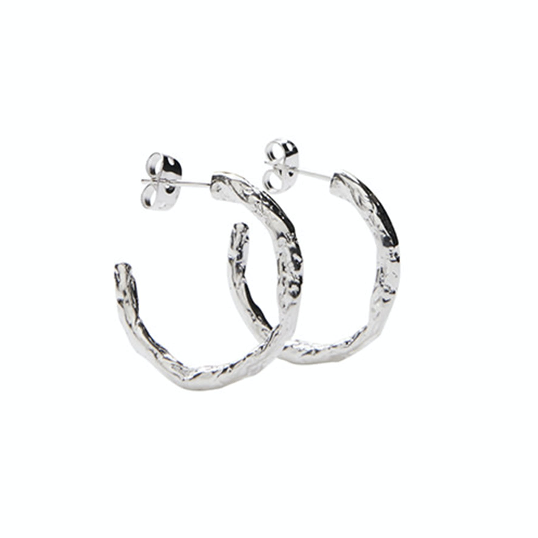 Petit Frigg Creols from Pico in Silver Sterling 925