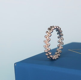 Olivia Ring fra Izabel Camille i Forgyldt-Sølv Sterling 925