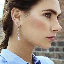 Saniya earrings blue