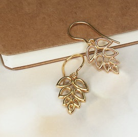 Scarlet earrings