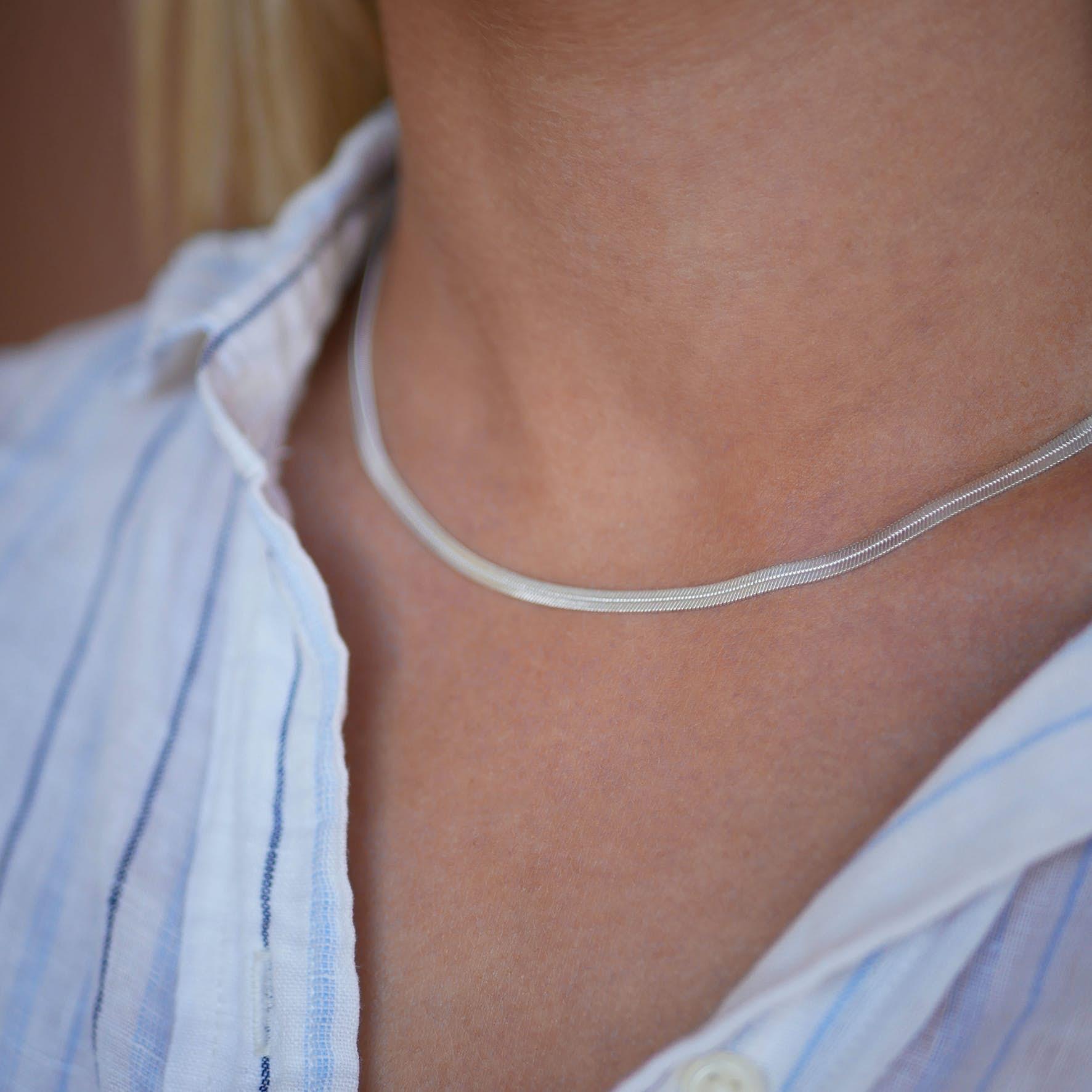 Caroline Necklace fra Enamel Copenhagen i Sølv Sterling 925