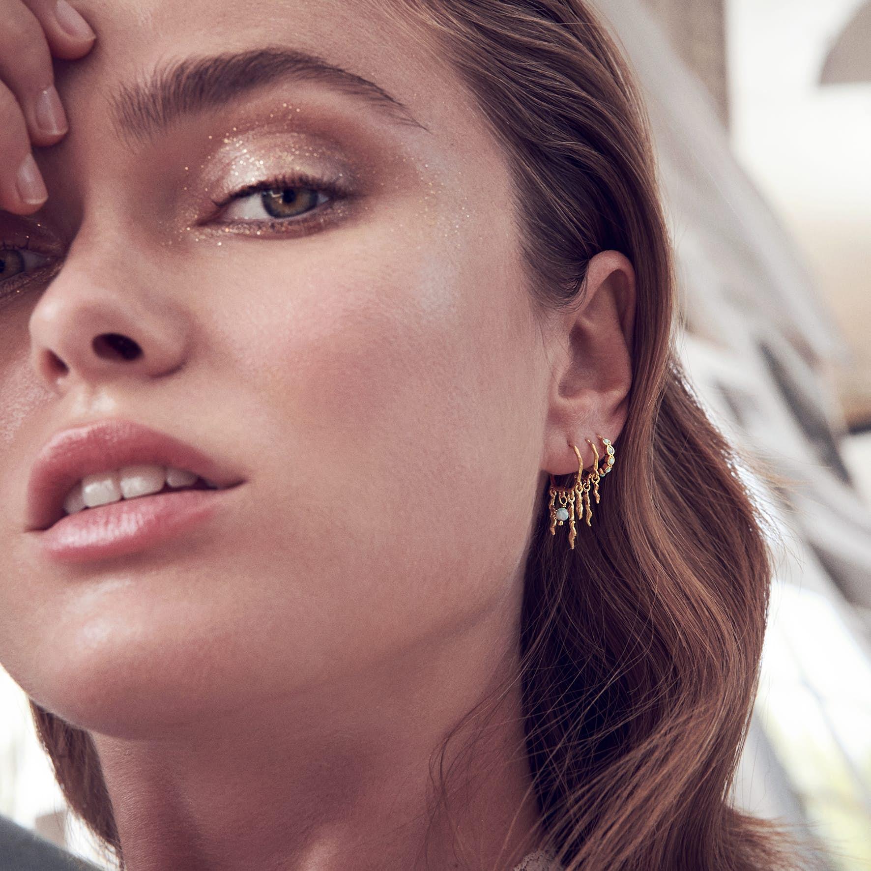 Bayou Earrings fra Maanesten i Sølv Sterling 925