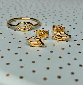 The Kiss ring aus Sistie