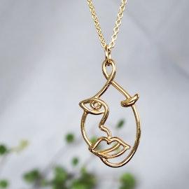 The Kiss necklace aus Sistie