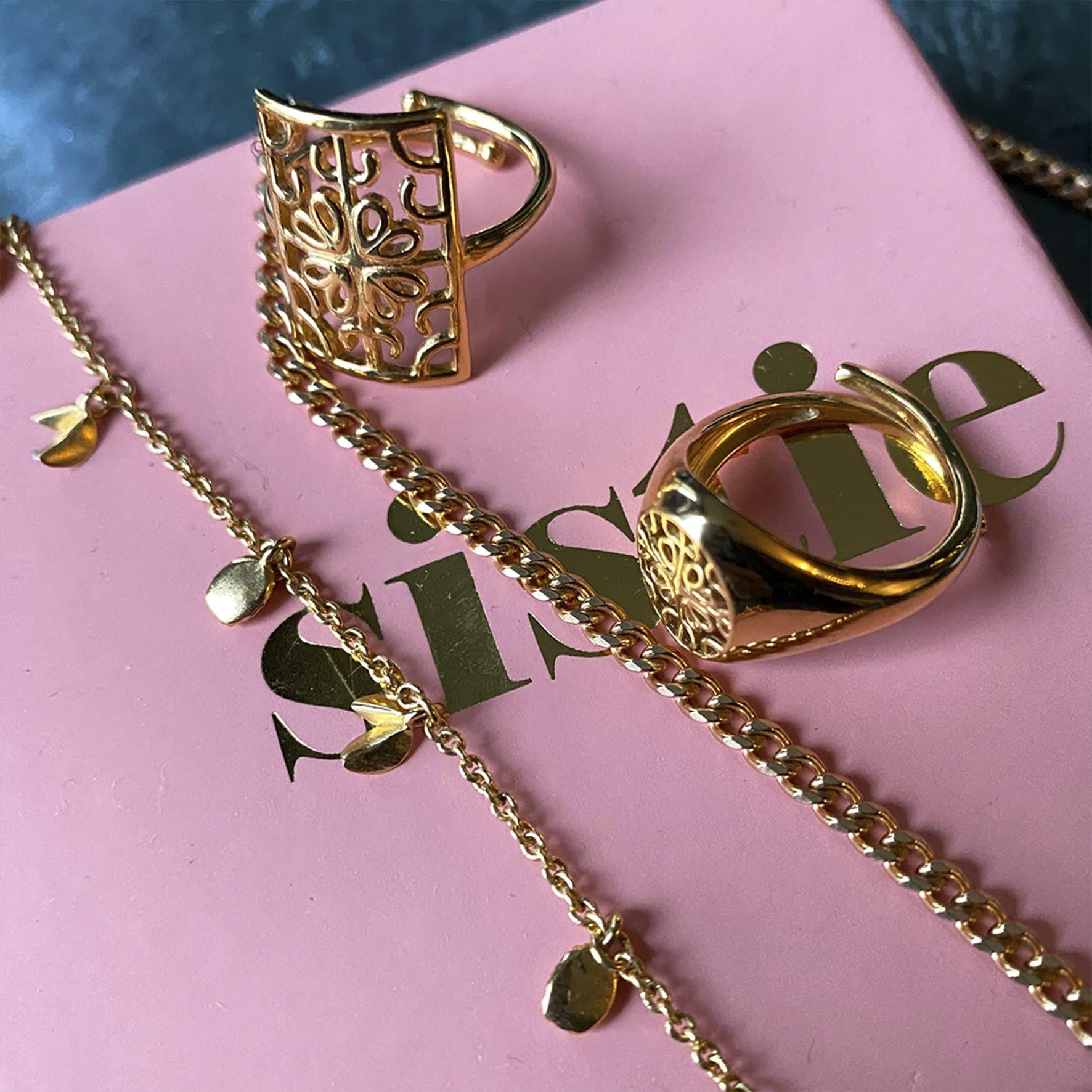 Balance ring von Sistie in Vergoldet-Silber Sterling 925