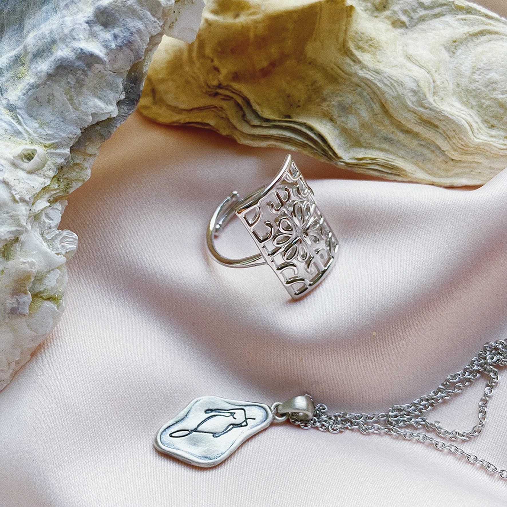Balance ring von Sistie in Silber Sterling 925