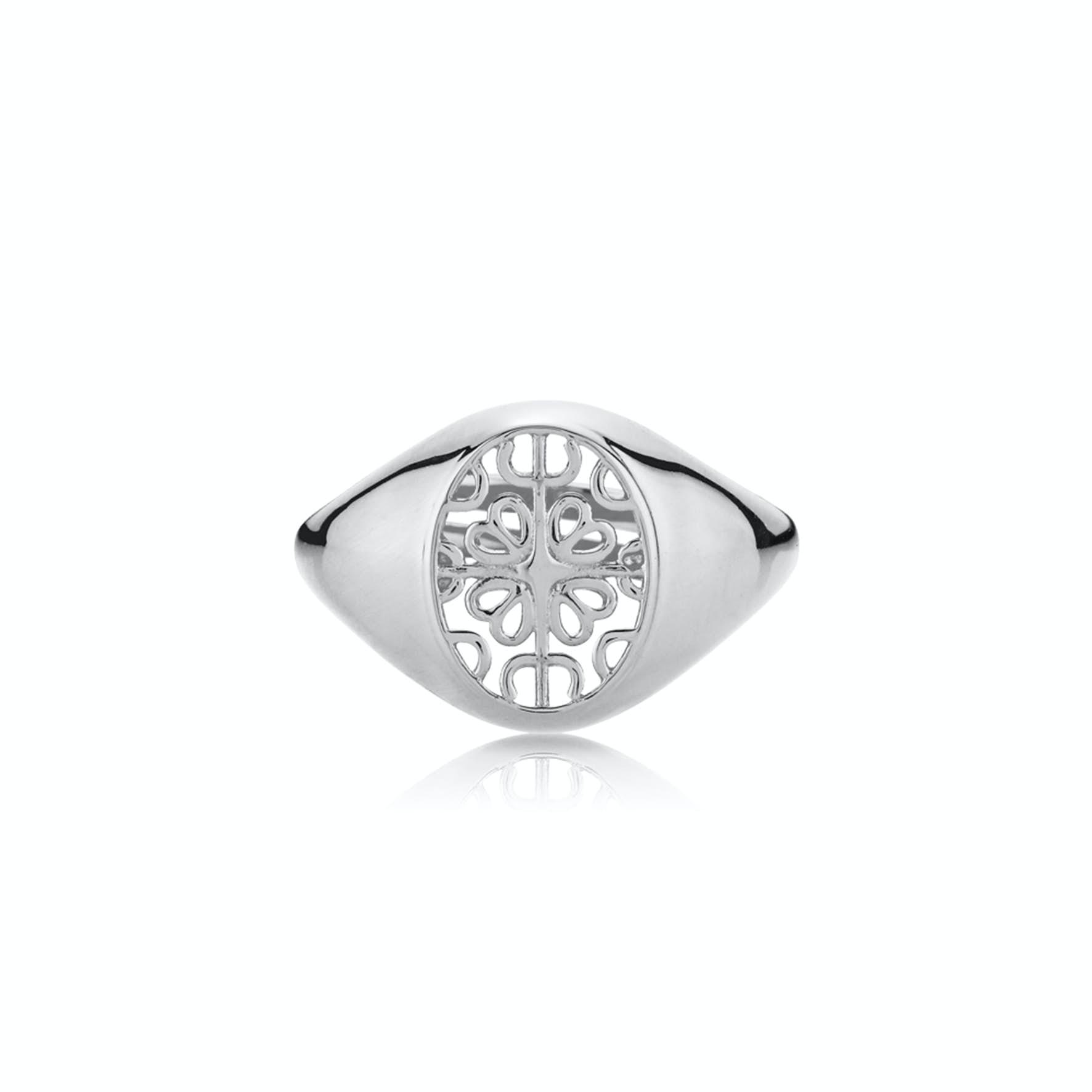 Balance Round Ring från Sistie i Silver Sterling 925