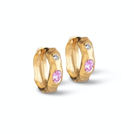 Leonora Pink Hoops