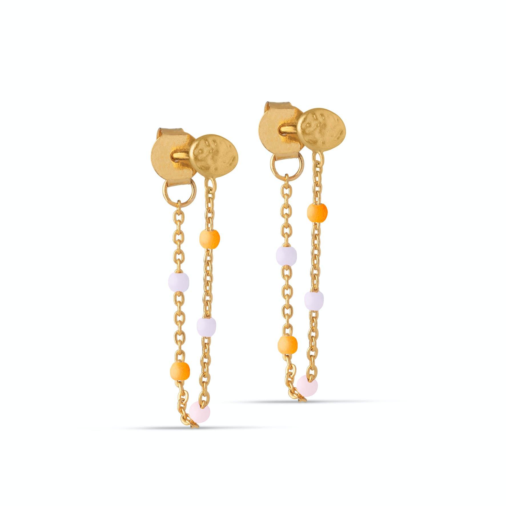Lola Earrings Heavenly from Enamel Copenhagen in Goldplated-Silver Sterling 925