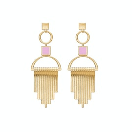 Majestic Pink Earrings