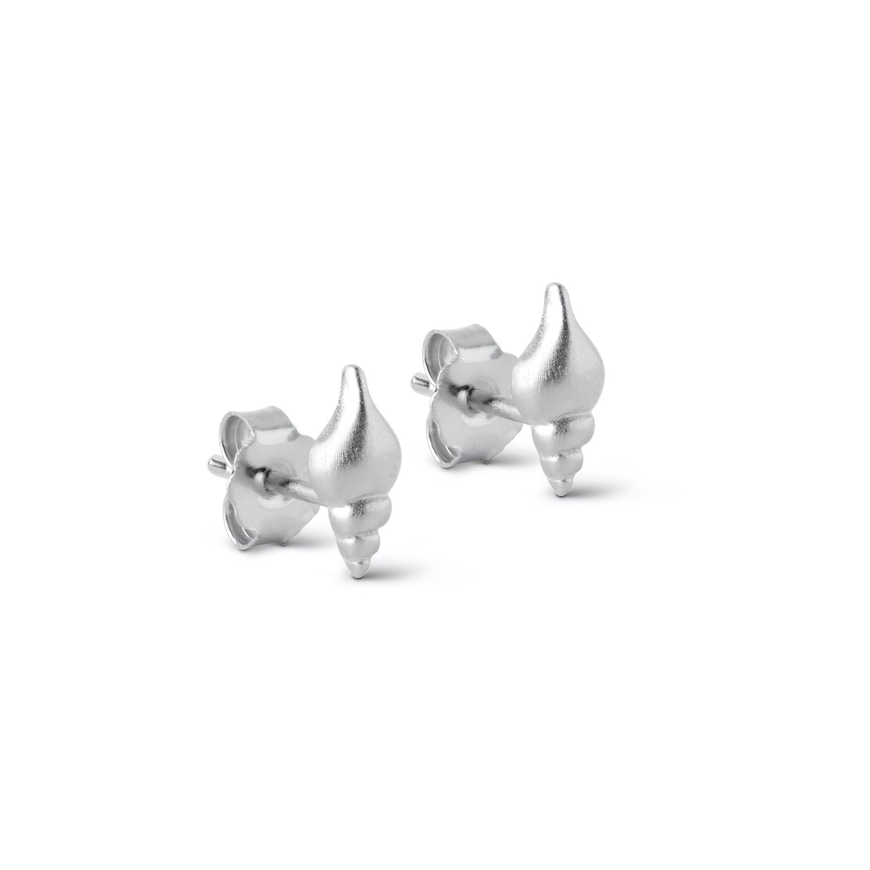 Shelly Earsticks von Enamel Copenhagen in Silber Sterling 925