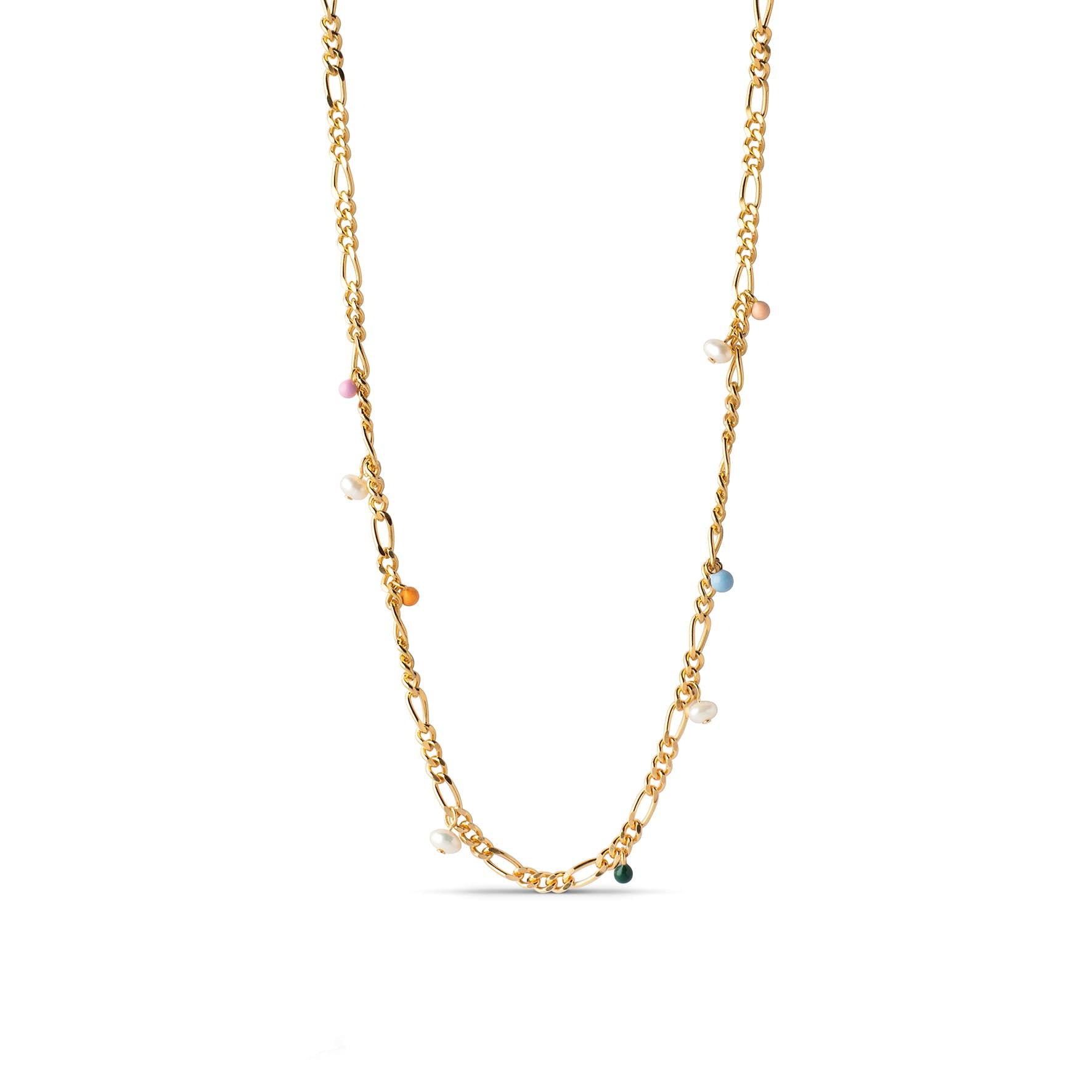 Willa Necklace von Enamel Copenhagen in Vergoldet-Silber Sterling 925