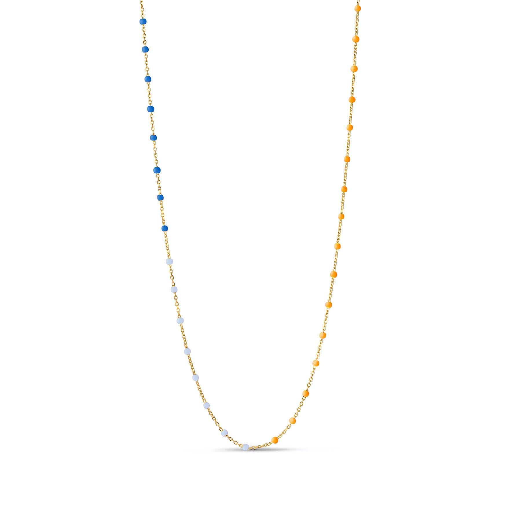 Lola Necklace Breezy von Enamel Copenhagen in Vergoldet-Silber Sterling 925