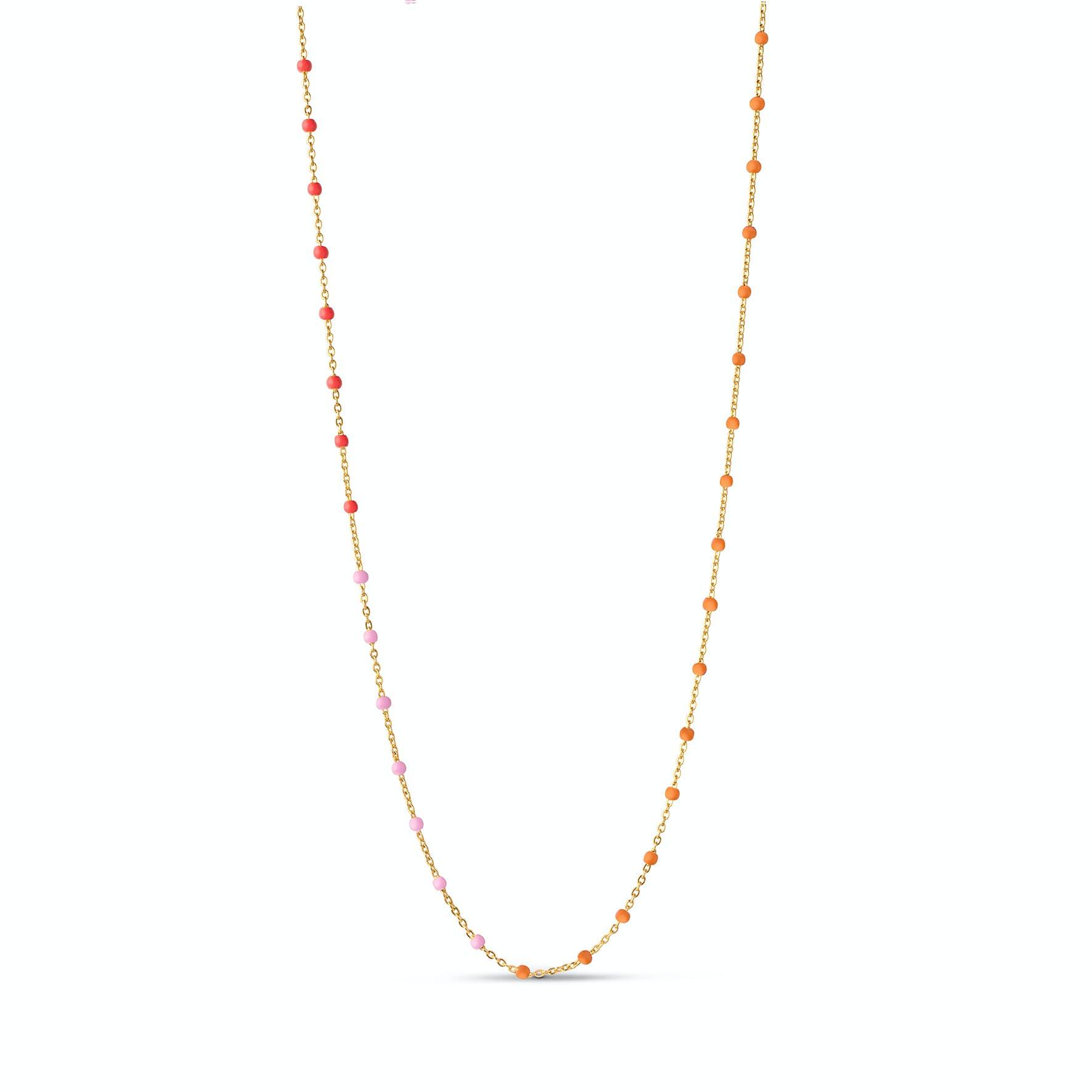 Lola Necklace Sunrise fra Enamel Copenhagen i Forgylt-Sølv Sterling 925