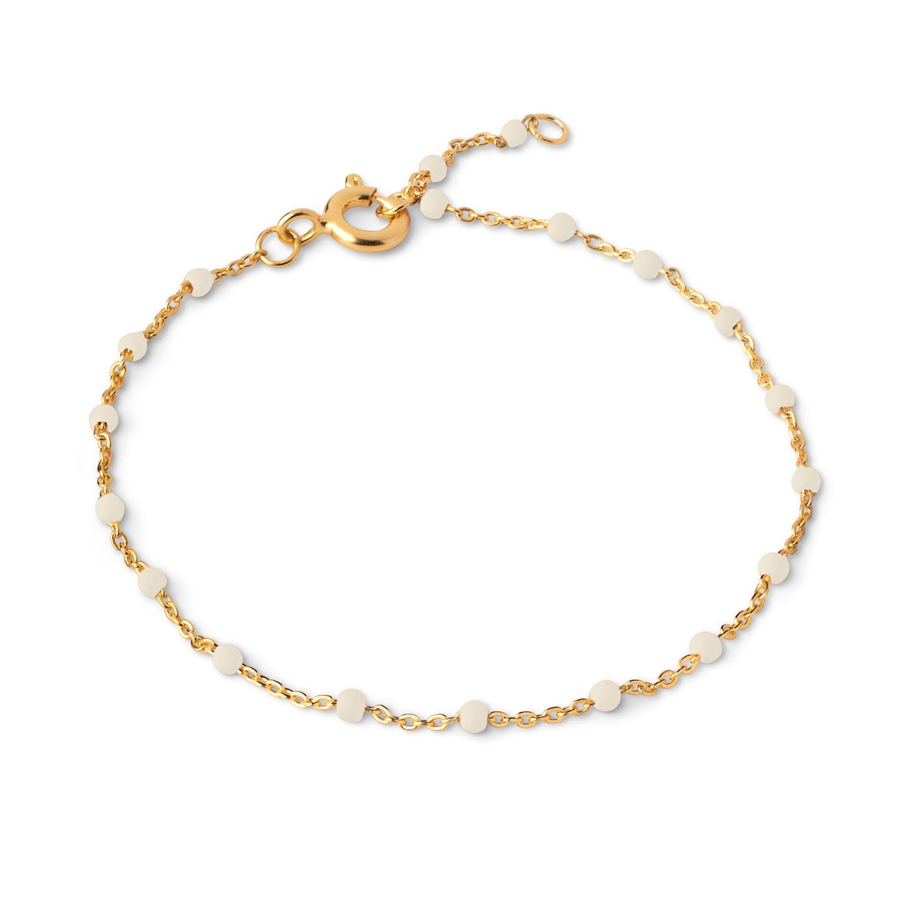 Lola Bracelet Daisy fra Enamel Copenhagen i Forgylt-Sølv Sterling 925