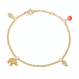 Lucky Charms Bracelet Red