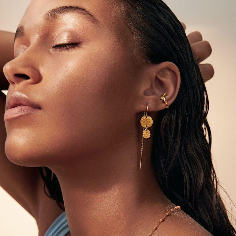 Annora Earrings fra Enamel Copenhagen i Sølv Sterling 925
