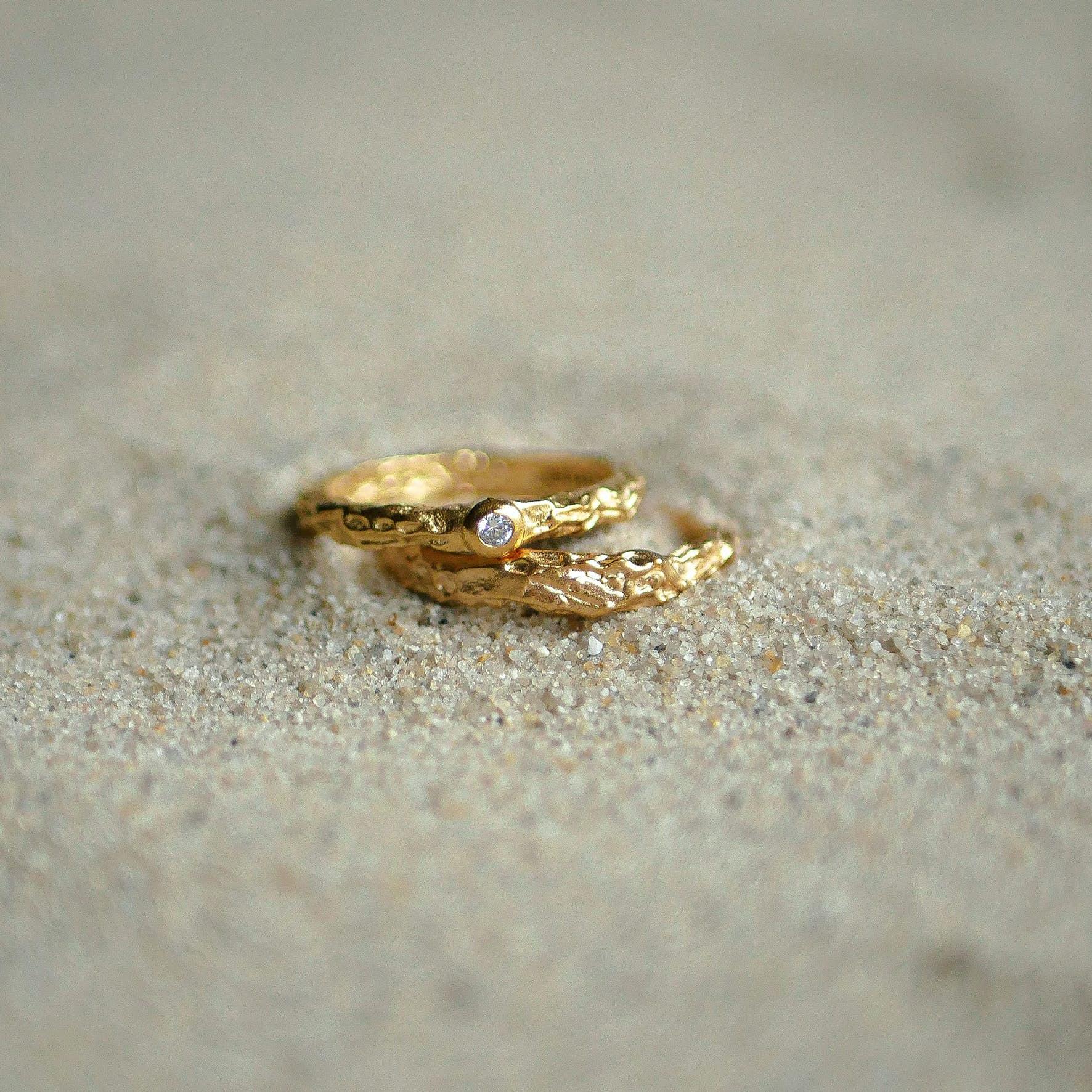 Coralie Ring von Enamel Copenhagen in Vergoldet-Silber Sterling 925
