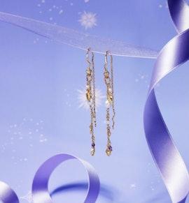 Poppy Earrings von Maanesten in Vergoldet-Silber Sterling 925