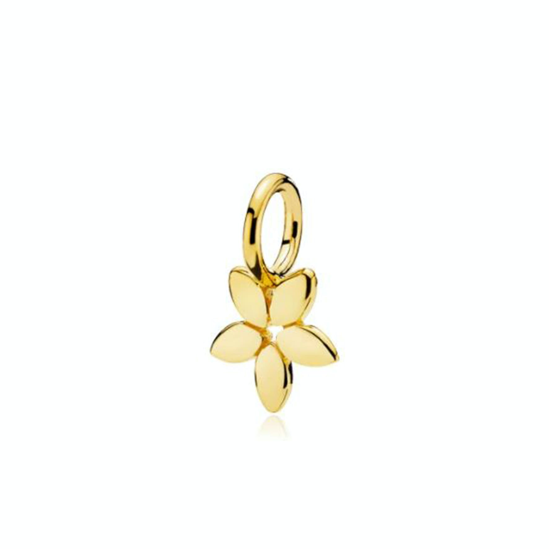Magnolia pendant fra Izabel Camille i Forgylt-Sølv Sterling 925