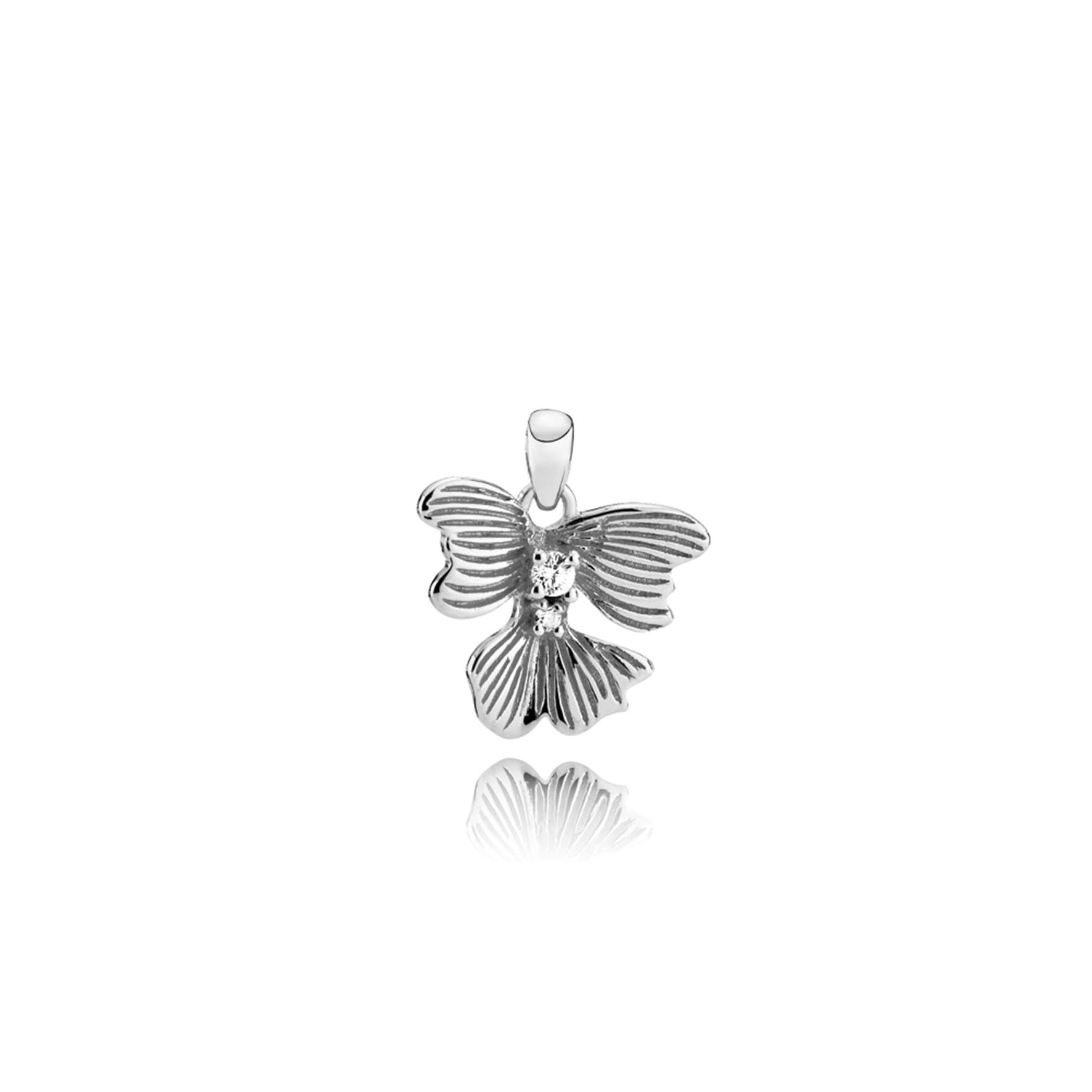 Violet Pendant von Izabel Camille in Silber Sterling 925