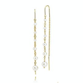 Paradise Earchains Freshwater Pearls