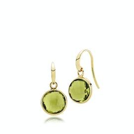 Prima Donna Earrings Peridot Green fra Izabel Camille