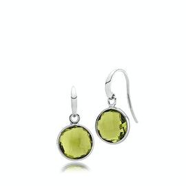 Prima Donna Earrings Peridot Green
