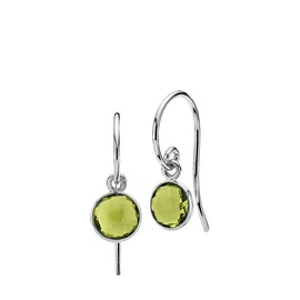 Prima Donna Earrings Small Peridot Green fra Izabel Camille i Sølv Sterling 925 Peridot Green