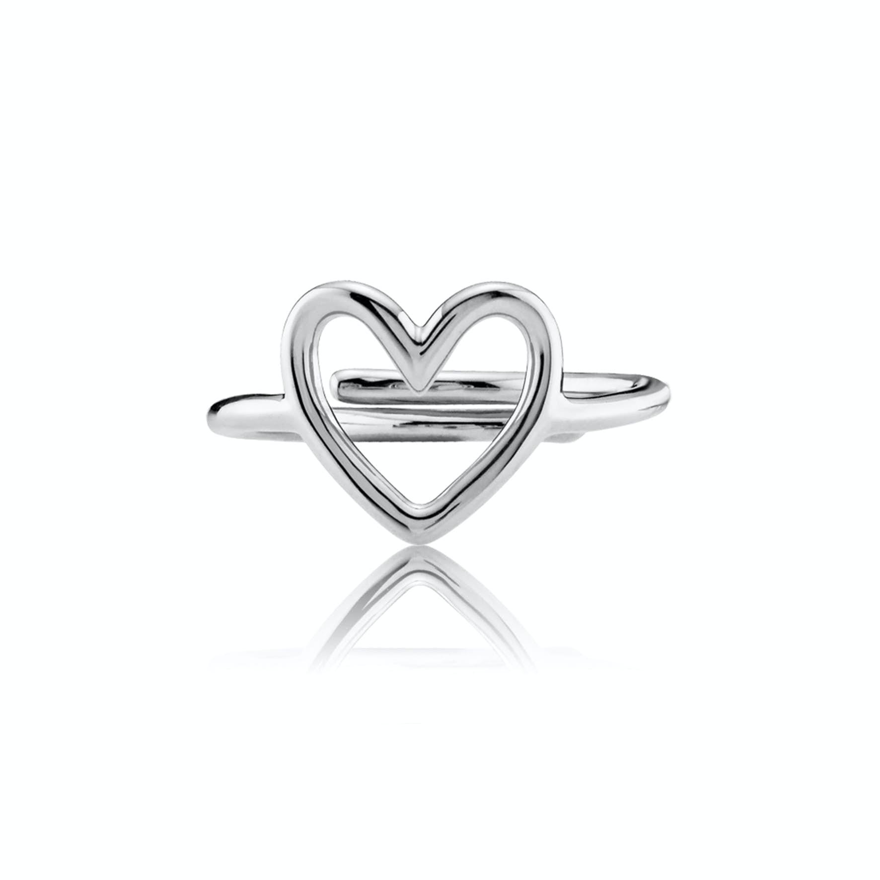 Love Charity Ring fra Izabel Camille i Sølv Sterling 925