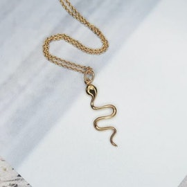 Young One Snake Necklace aus Sistie