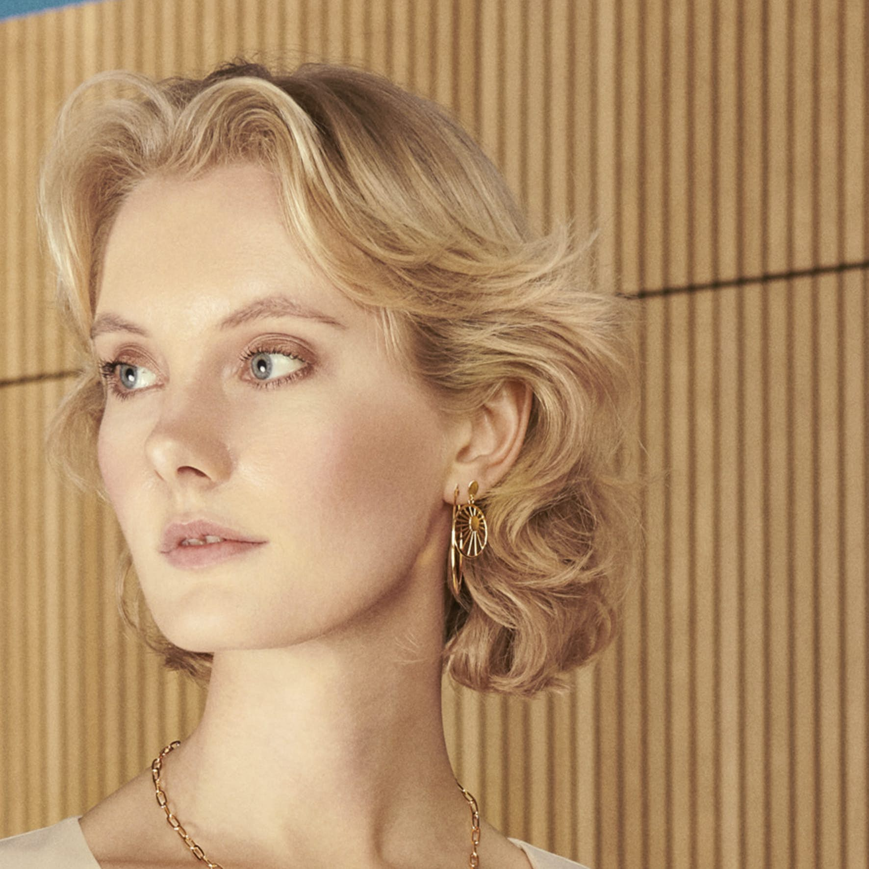 Daydream Earrings från Pernille Corydon i Förgyllt-Silver Sterling 925