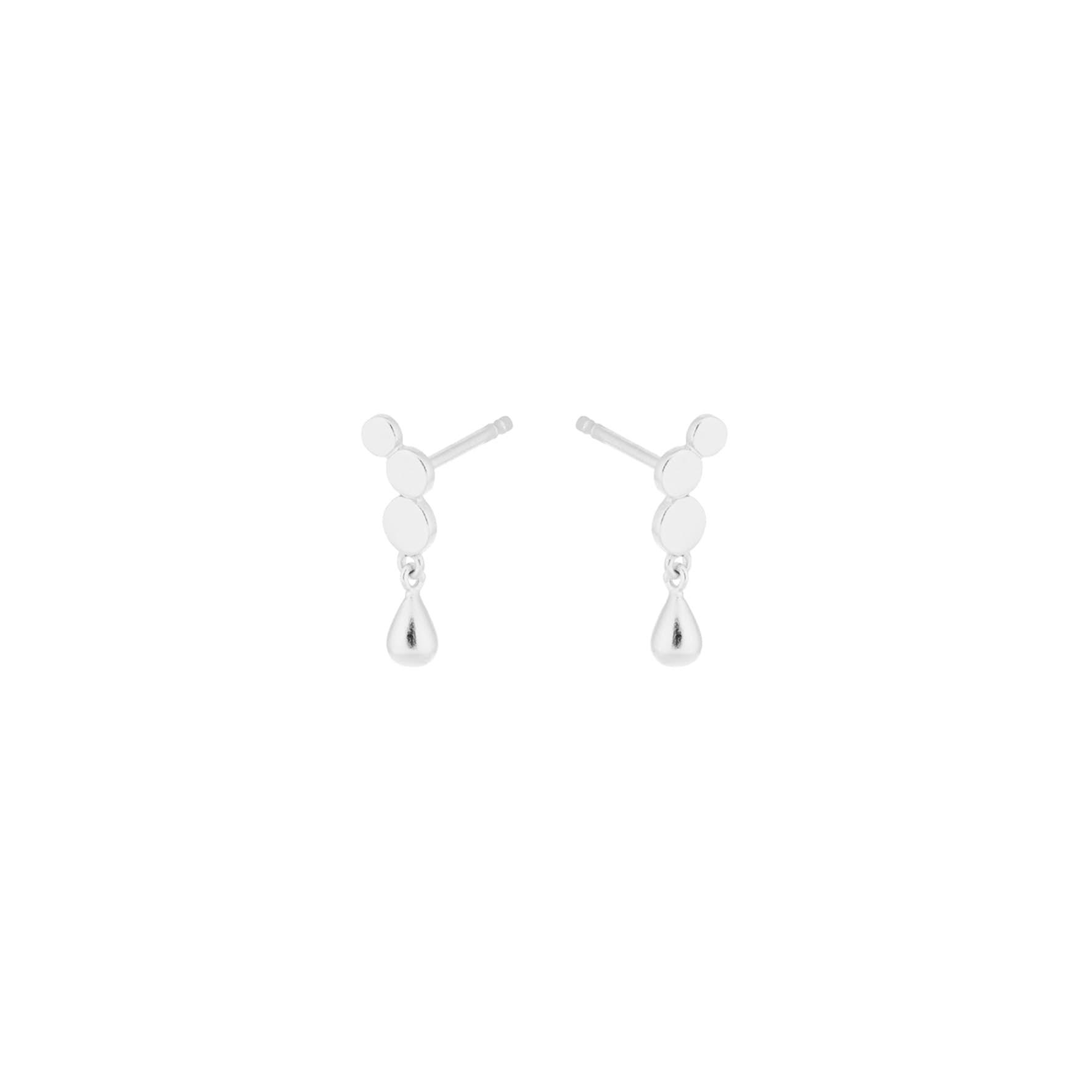 Catana Waterdrop Earrings fra Pernille Corydon i Sølv Sterling 925