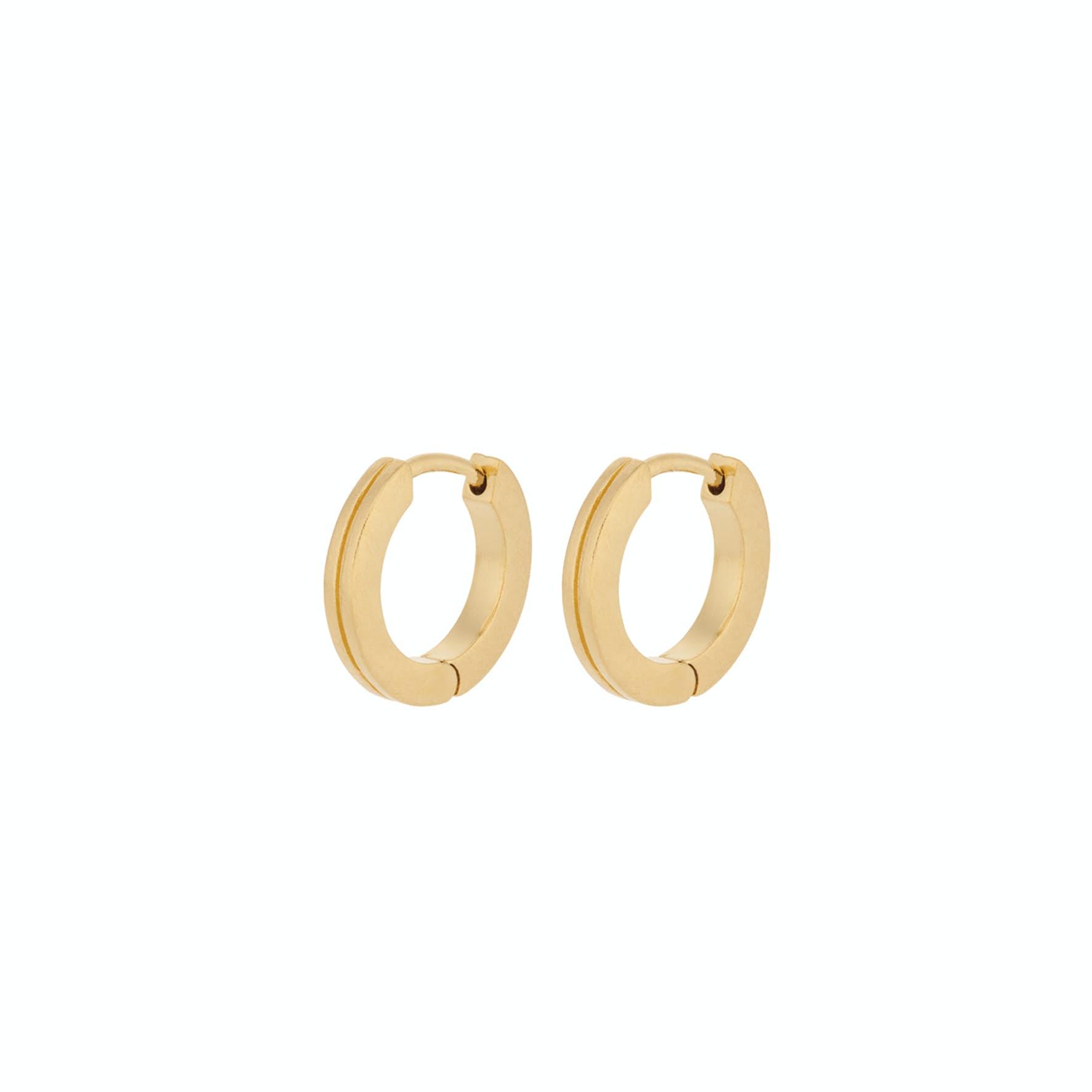 Eddie Huggie Earrings fra Pernille Corydon i Forgyldt-Sølv Sterling 925