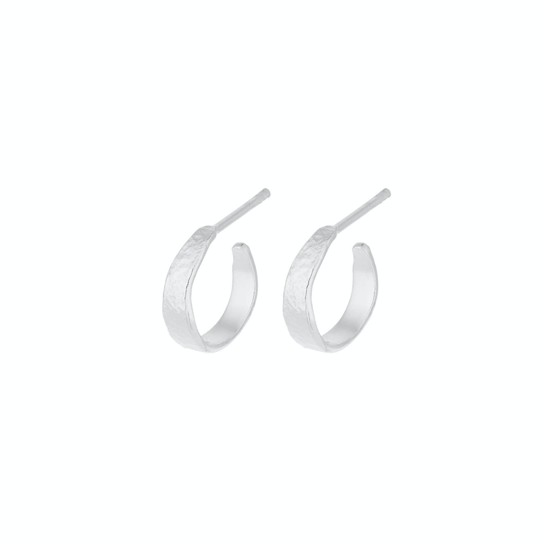 Moonscape Hoops Mini fra Pernille Corydon i Sølv Sterling 925