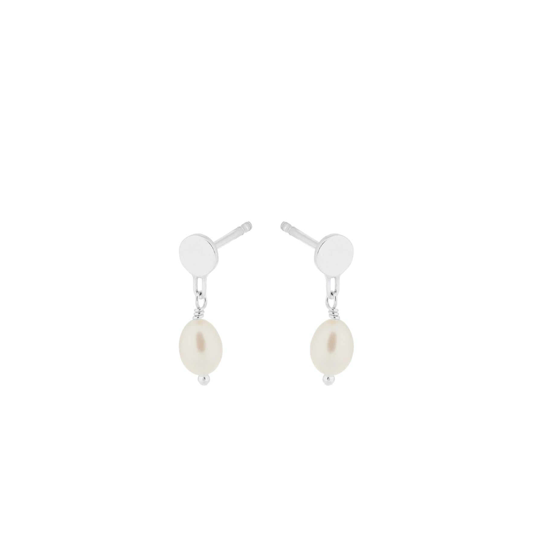 Ocean Dream Earsticks von Pernille Corydon in Silber Sterling 925|Freshwater Pearl