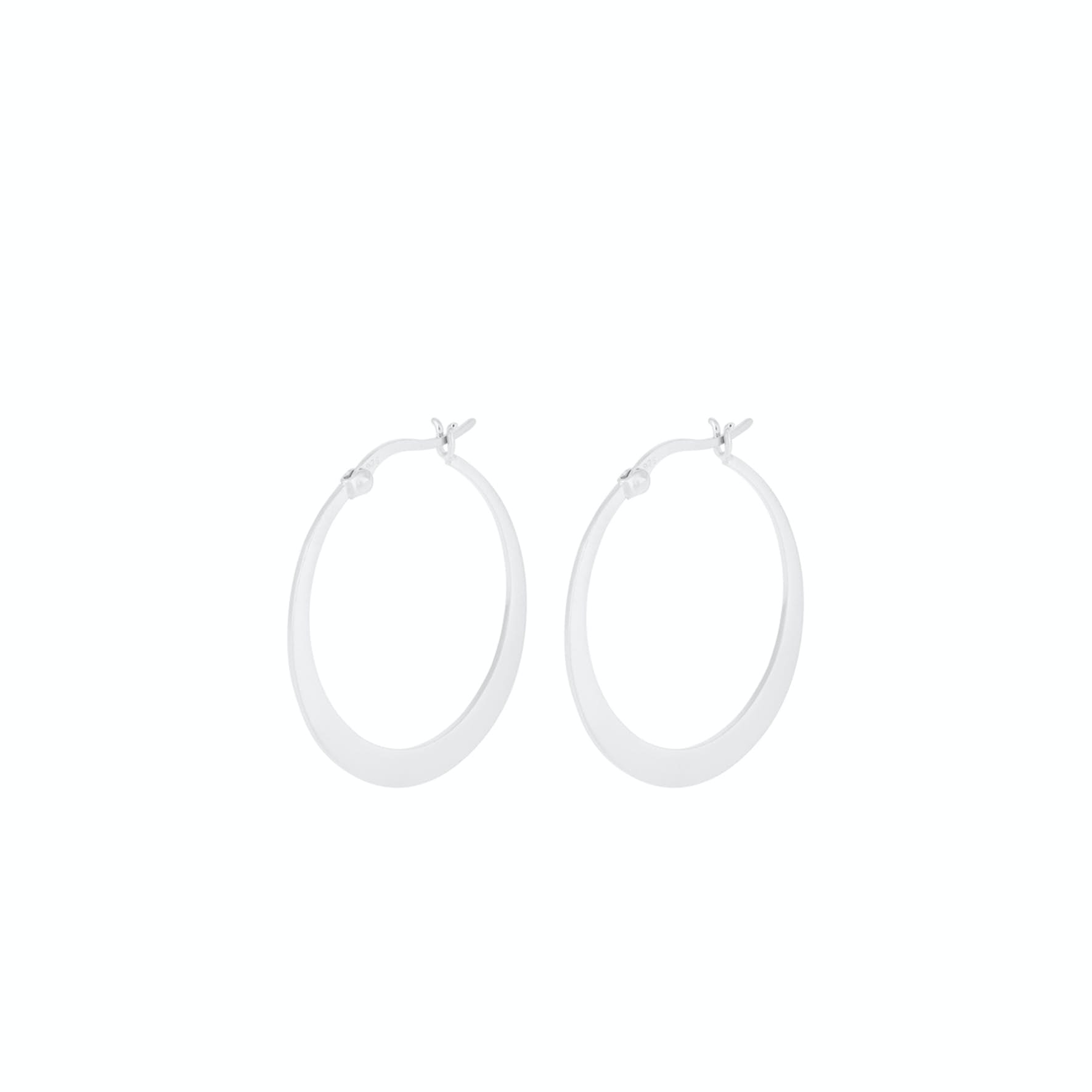 Escape Hoops Small von Pernille Corydon in Silber Sterling 925